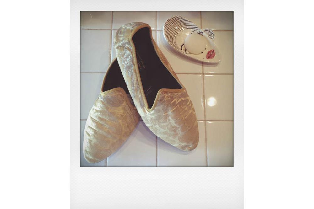 Venetian slippers