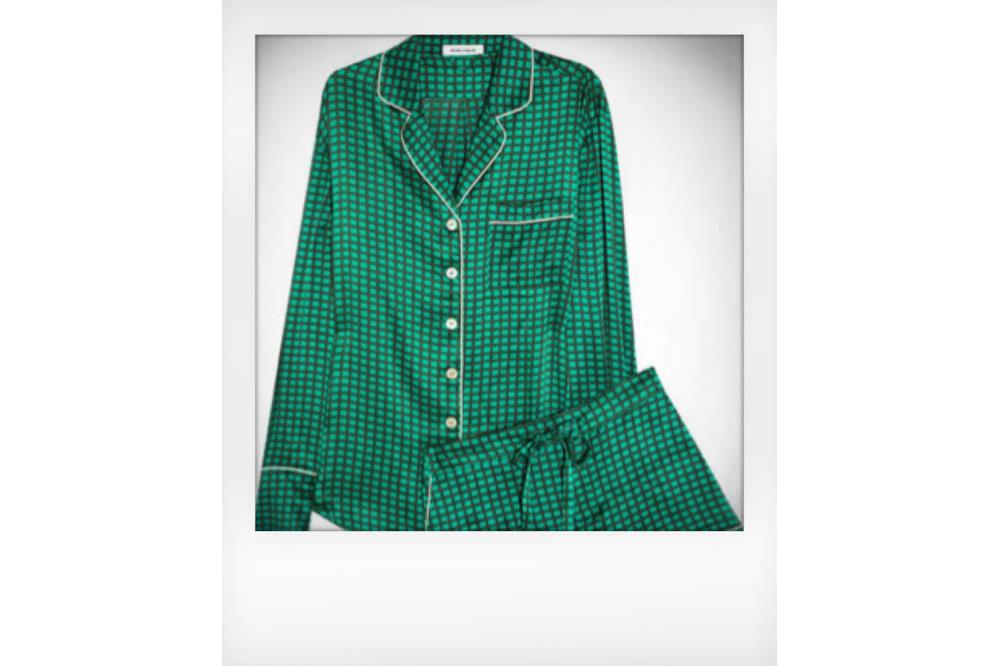 Olympia von Halle Silk Pyjama