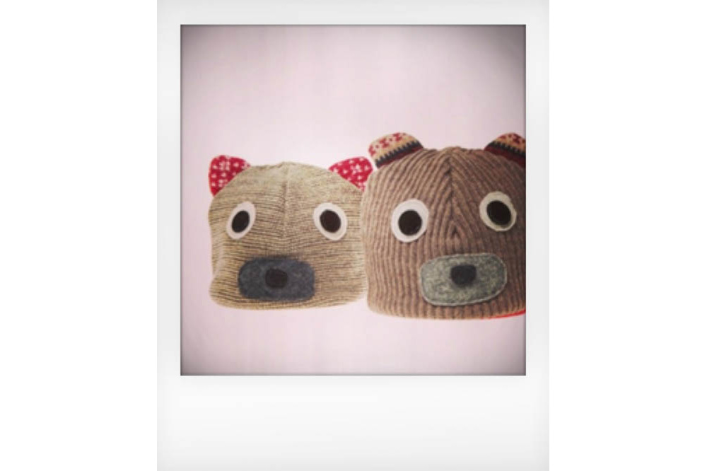 The Honest Company Bear Hats