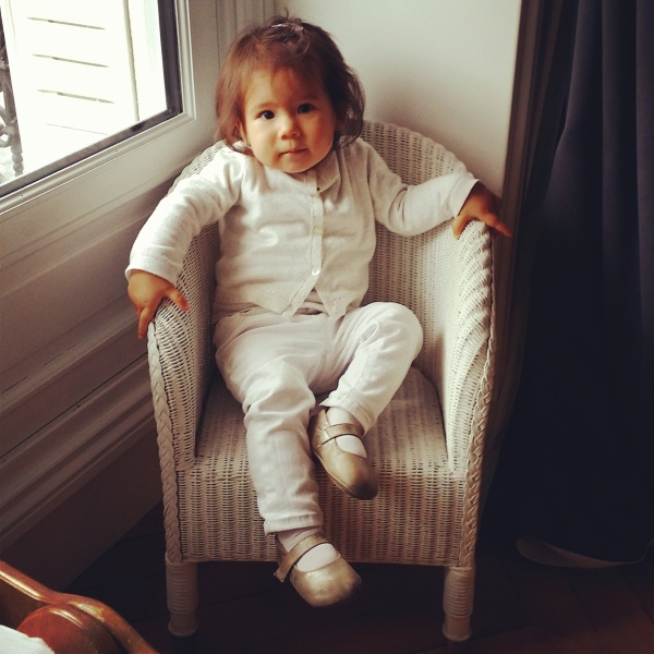 Kate, 1 year old, Paris, France