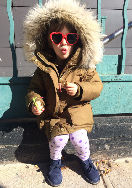 Oona Malman, 3 years old, Brooklyn, NY USA