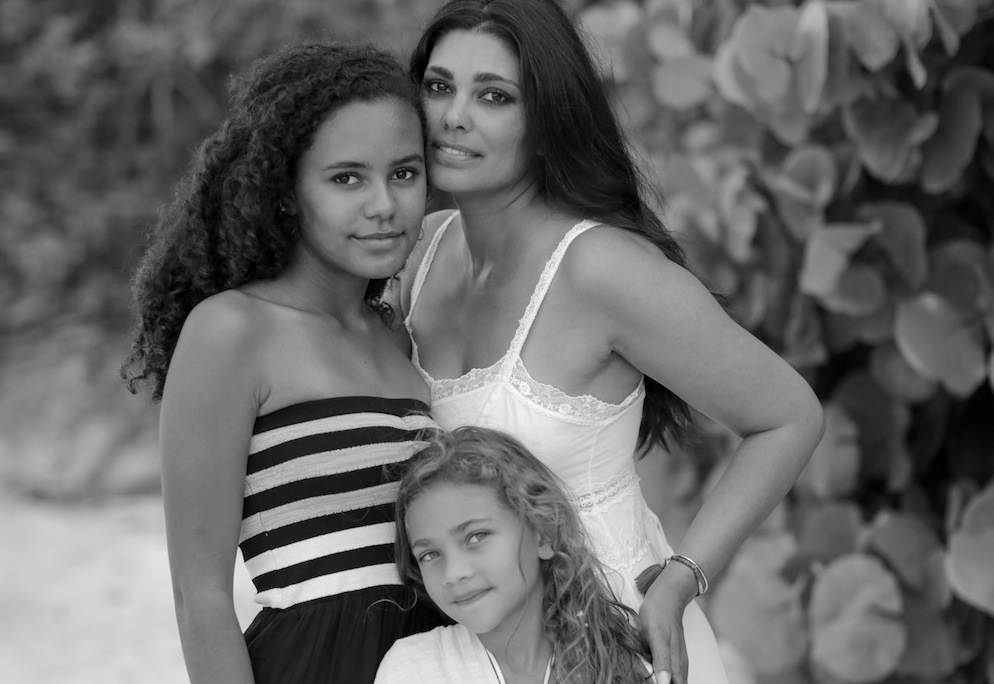 Rachel Roy, Designer, Mother to Ava and Tallulah  Los
